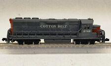 Bachmann N scale EMD Gp40 custom paint Cotton Belt SSW 6789 C-4 Rapido couplers