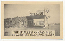CONOCO GAS STATION 15¢ GAL ROUTE 80 OLD POSTCARD ***NOW ON SALE***  PC6137