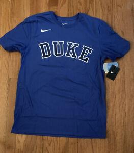 Men's Nike Duke Blue Devils Disruption Shirt NWT Large L