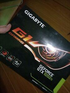 GIGABYTE GeForce GTX 1050 TI G1 Gaming 4gb Card