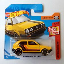 Hot Wheels  Volkswagen Golf MK2 - 3 door yellow