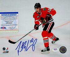 Patrick Sharp Chicago Blackhawks Signed Autograph 8 x 10 Photo PSA DNA