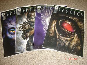SPECIES THE COMPLETE SERIES 1-4