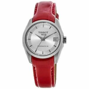 New Tissot Couturier Automatic Silver Dial Women's Watch T035.207.16.031.01