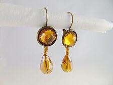 Mode-Ohrschmuck aus Glas mit Perlen (Imitation) für Damen