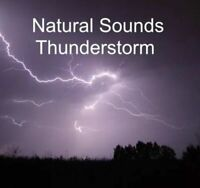 NATURAL SOUNDS THUNDERSTORM RELAXATION DEEP SLEEP STRESS RELIEF CALM NATURE CD