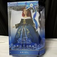 "Disney 2020 Ariel 11"" Doll The Little Mermaid Christmas Holiday Special Edition"