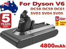 4.8Ah HeavyDuty Battery for Dyson Absolute V6 DC58 DC59 DC61 DC62 D72 DC74 BC683