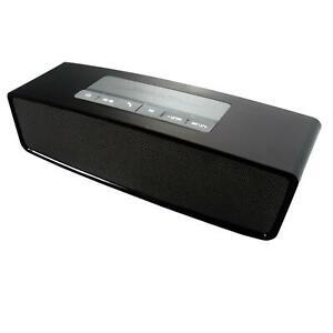 Soundbox SLM Bluetooth Speaker Lautsprecher Wireless Schwarz