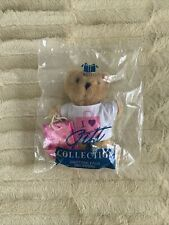 """Avon Gift Collection Pastime Pals I Love Shopping 6"""" Teddy Bear New Unopened"""