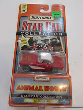 MATCHBOX STAR CAR COLLECTION SERIES 2 ANIMAL HOUSE '62 CORVETTE RED