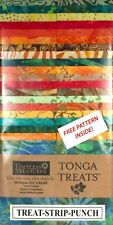 "Timeless Treasures Punch Tonga Treats Jelly Roll 40 Pieces/Strips 2.5"" x 43""/44"""