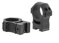 Leapers UTG Pro POI Haute 30 mm 9-11 mm queue d'aronde Rifle Scope Mount Rings RDU013022