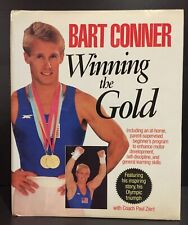 Gymnastics Olympics - Winning the Gold - Bart Conner SIGNED 1st edition 1985