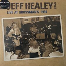 Live in Grossman's by The Jeff Healey Band (180g Clear Vinyl 2LP), 2012, Rock Cl