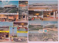 L'aéroport Charles De Gaulle PARIS 17 CPA pre-1980