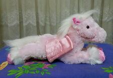 **Korimco Pink plush laying PEGASUS**
