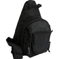 Concealed Carry Shoulder Sling Backpack w/ Holster, CCW Hike Camp Pack Hunt Bag