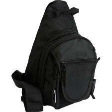 Concealed Carry Shoulder Sling Backpack w/ Holster, CCW Hike Camp Pack Hunt Bag