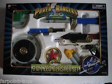 BOX DAMAGE SPECIAL! NEW Power Rangers Zeo 7 IN 1 ZEO BLASTER SET Bandai SEALED S
