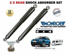 FOR CHEVROLET CAPTIVA 2006-> HEAVY DUTY TOWING 2x REAR SHOCK ABSORBER SHOCKERS