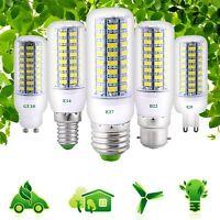 E27/B22/E14/G9/GU10 LED Corn Bulb Light 5730 SMD 7W-30W Lamp AC 220/110V Lights