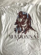 Madonna MDNA TOUR South America Dates Only T-shirt New Large