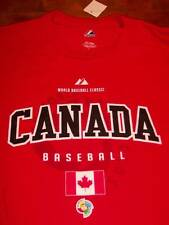 CANADA WORLD BASEBALL CLASSIC T-Shirt LARGE NEW w/ TAG
