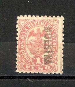 Colombia Scott 137 Mint no gum (MUESTRA)