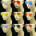 Sunglasses pilot men women lens frame color retro vintage style blocking new
