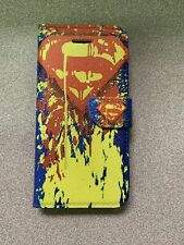 Superman Wallet Case For iPhone 5 5s SE Brand New
