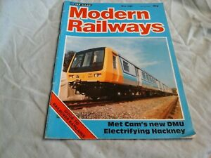 MODERN RAILWAYS  MAGAZINE       Volume 42   No 440    May 1985