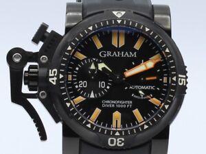 Graham Chronofighter Oversize Diver PVD 2OVEZ.B02B.K10B