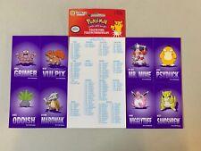 Pokemon Go Meisterdetektiv Pikachu Sticker 8 Klebesticker PPOKCS5 Aufkleber