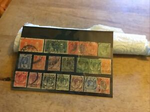 Straights Settlements Used Stamps Lot