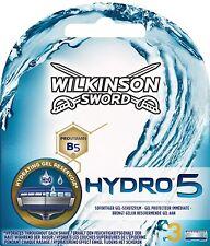 Wilkinson Sword Hydro 5 Razor Blades - 3 Pack Genuine
