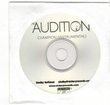 (EZ408) The Audition, Champion - DJ CD