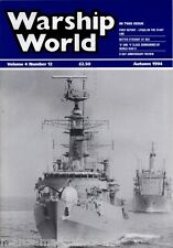 WARSHIP WORLD MAGAZINE AUTUMN 1994 U AND V CLASS SUBMARINES D-DAY REVIEW