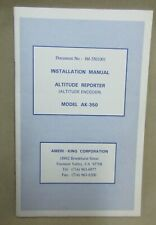 Ameri-King Altitude Reporter Model AK-350 Installation Manual