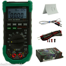 Mastech MS8229 Digital Multimeter 4000 Counts Temperature Humidity Tester