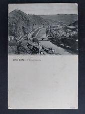 Alte Ansichtskarte 1908 - Concordiaturm - Bad Ems