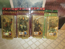 Lord Of The Rings The Heros Of Helms Deep Action Figures Nib