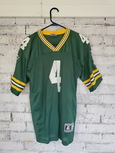 Vintage Starter Green Bay Packers Brett Favre Jersey Youth Size XL adult small