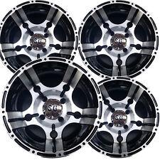 "4) 12"" ATV RIMs WHEELs fits some Honda --SRA-- 12x7 4/110 5-Star Machined Face"