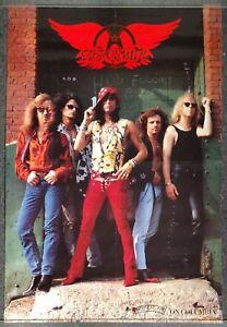 Aerosmith Pandora's Box 1991 PROMO POSTER