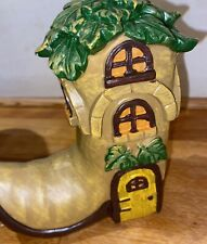 Latex Mould for making this Lovely Boot Fairy House