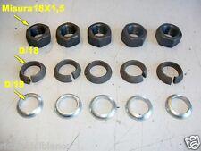 Autocarri FIAT-IVECO 40-50-55-65-LUPETTO-ecc N°5 Dadi/Rondelle colonnette ruote