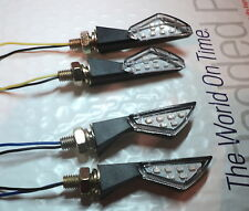 4X TURN SIGNAL LED HONDA Wallaro SA50 Vision Shadow 50 s-Wing 125 UNIVERSAL