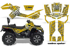 Can-Am Outlander Max ATV Graphic Kit 500/800 AMR Decal Sticker Part WIDOW YL