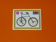 PANINI SPRINT 72 CYCLISME 1972 N°221 BATAM ENGLAND 1890 BICYCLE A ENGRENAGES